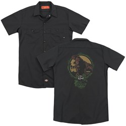 Kong Skull Island - Mens Wrath Of Kong (Back Print) Work Shirt