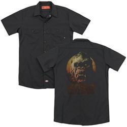 Kong Skull Island - Mens Kong (Back Print) Work Shirt