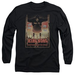 King Kong - Mens Eighth Wonder Of The World Long Sleeve T-Shirt