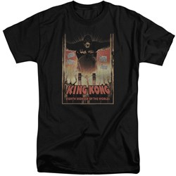 King Kong - Mens Eighth Wonder Of The World Tall T-Shirt