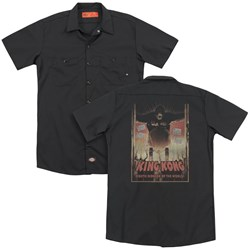 King Kong - Mens Eighth Wonder Of The World (Back Print) Work Shirt