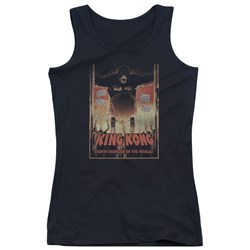 King Kong - Juniors Eighth Wonder Of The World Tank Top