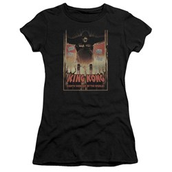 King Kong - Juniors Eighth Wonder Of The World Premium Bella T-Shirt