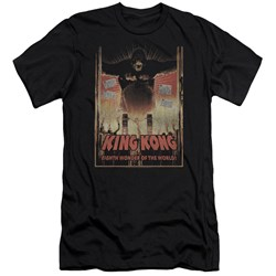 King Kong - Mens Eighth Wonder Of The World Slim Fit T-Shirt