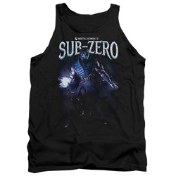 Mortal Kombat - Mens Sub-Zero Tank Top
