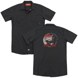 King Kong - Mens It Was Beauty Killed The Beast (Back Print) Work Shirt