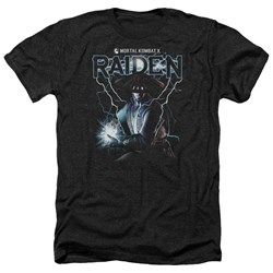 Mortal Kombat - Mens Raiden Heather T-Shirt