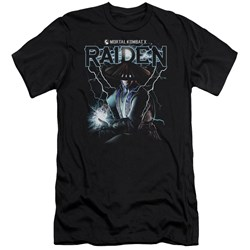 Mortal Kombat - Mens Raiden Premium Slim Fit T-Shirt
