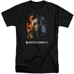 Mortal Kombat - Mens Fire And Ice Tall T-Shirt