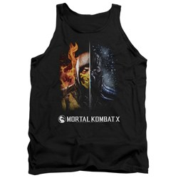 Mortal Kombat - Mens Fire And Ice Tank Top
