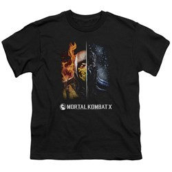 Mortal Kombat - Youth Fire And Ice T-Shirt