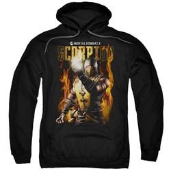 Mortal Kombat - Mens Scorpion Pullover Hoodie