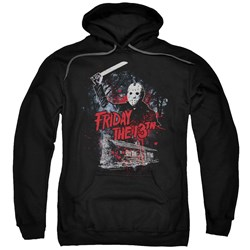 Friday The 13Th - Mens Cabin Pullover Hoodie