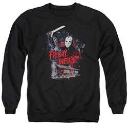 Friday The 13Th - Mens Cabin Sweater
