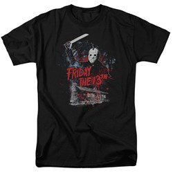 Friday The 13Th - Mens Cabin T-Shirt