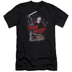 Friday The 13Th - Mens Cabin Premium Slim Fit T-Shirt