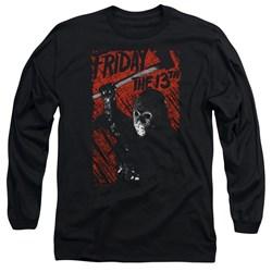 Friday The 13Th - Mens Jason Lives Long Sleeve T-Shirt