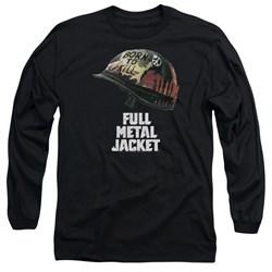 Full Metal Jacket - Mens Poster Long Sleeve T-Shirt