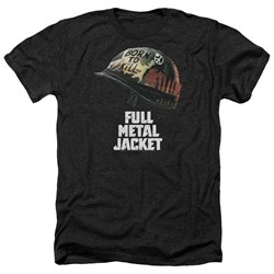 Full Metal Jacket - Mens Poster Heather T-Shirt