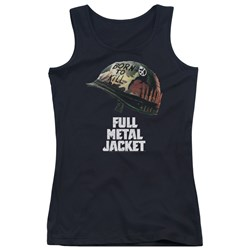 Full Metal Jacket - Juniors Poster Tank Top