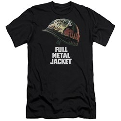 Full Metal Jacket - Mens Poster Premium Slim Fit T-Shirt