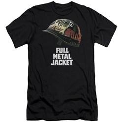 Full Metal Jacket - Mens Poster Slim Fit T-Shirt