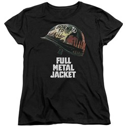 Full Metal Jacket - Womens Poster T-Shirt