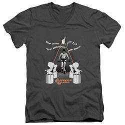 A Clockwork Orange - Mens Sharpen You Up V-Neck T-Shirt