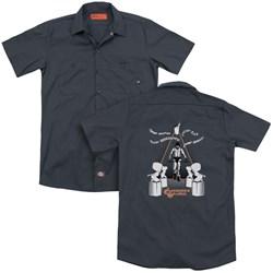 A Clockwork Orange - Mens Sharpen You Up (Back Print) Work Shirt
