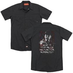 Full Metal Jacket - Mens Malfunction (Back Print) Work Shirt