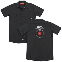 2001 A Space Odyssey - Mens Hal (Back Print) Work Shirt
