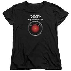 2001 A Space Odyssey - Womens Hal T-Shirt