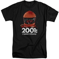 2001 A Space Odyssey - Mens Space Travel Tall T-Shirt