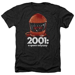 2001 A Space Odyssey - Mens Space Travel Heather T-Shirt