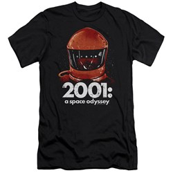 2001 A Space Odyssey - Mens Space Travel Slim Fit T-Shirt