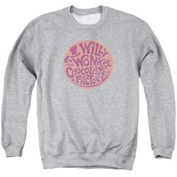 Willy Wonka And The Chocolate Factory - Mens Circle Logo Sweater