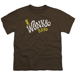 Willy Wonka And The Chocolate Factory - Youth Wonka Logo T-Shirt