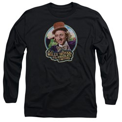Willy Wonka And The Chocolate Factory - Mens Its Scrumdiddlyumptious Long Sleeve T-Shirt