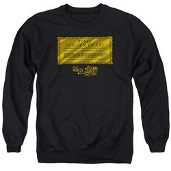 Willy Wonka And The Chocolate Factory - Mens Golden Ticket Sweater