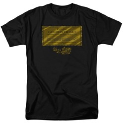 Willy Wonka And The Chocolate Factory - Mens Golden Ticket T-Shirt