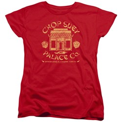 A Christmas Story - Womens Chop Suey Palace Co T-Shirt