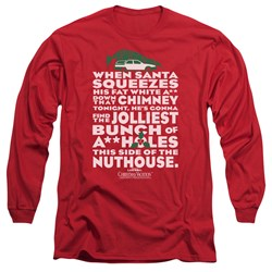 Christmas Vacation - Mens Jolliest Bunch Long Sleeve T-Shirt