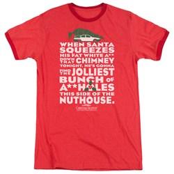 Christmas Vacation - Mens Jolliest Bunch Ringer T-Shirt