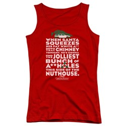 Christmas Vacation - Juniors Jolliest Bunch Tank Top