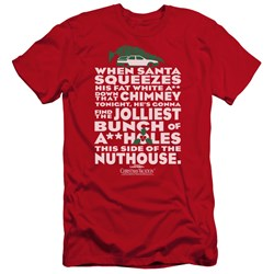 Christmas Vacation - Mens Jolliest Bunch Premium Slim Fit T-Shirt