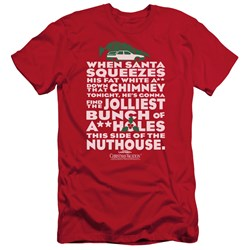 Christmas Vacation - Mens Jolliest Bunch Slim Fit T-Shirt
