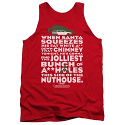 Christmas Vacation - Mens Jolliest Bunch Tank Top