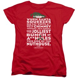 Christmas Vacation - Womens Jolliest Bunch T-Shirt