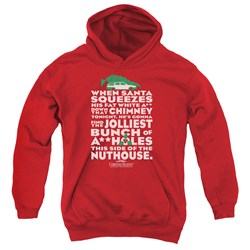 Christmas Vacation - Youth Jolliest Bunch Pullover Hoodie
