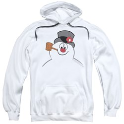 Frosty The Snowman - Mens Frosty Face Pullover Hoodie
